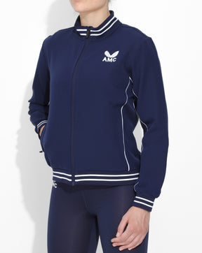 Navy AMC Core Women's Track Jacket