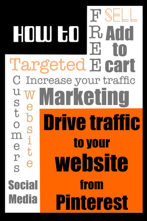5 FREE ways to drive traffic to your website from Pinterest