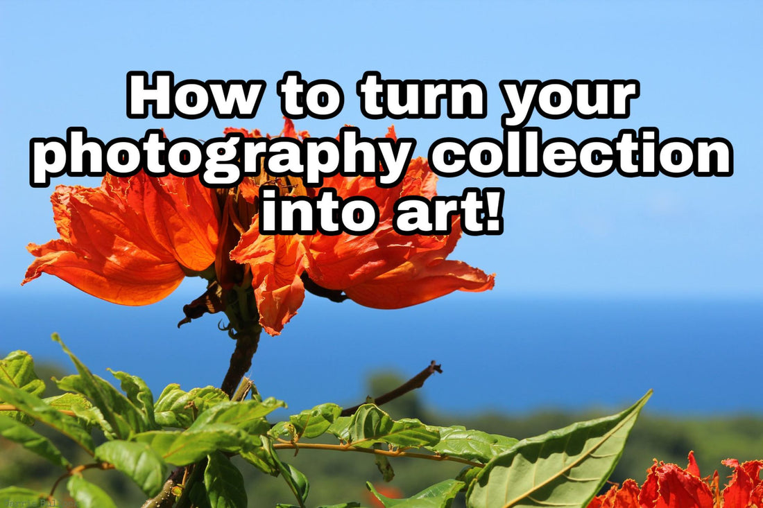 How to turn your photo collection into art by Carrie Bullock Photography