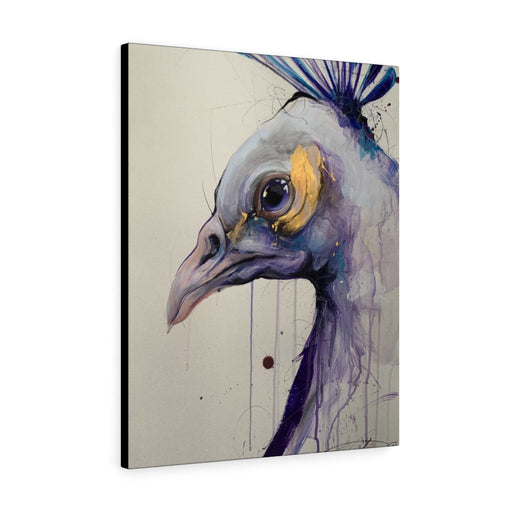 Peacock Print on Canvas - www.thedesigntank.com