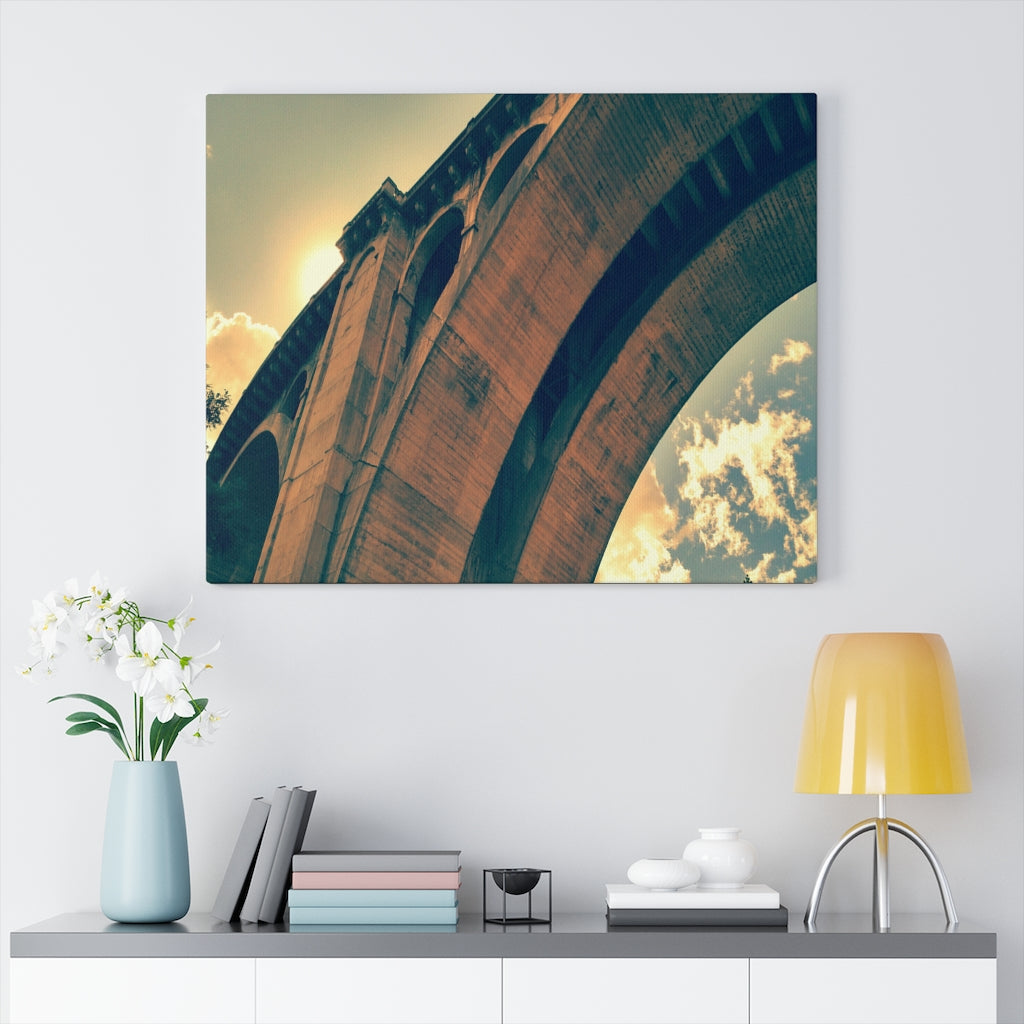 High Bridge Arch Print on Canvas - www.thedesigntank.com
