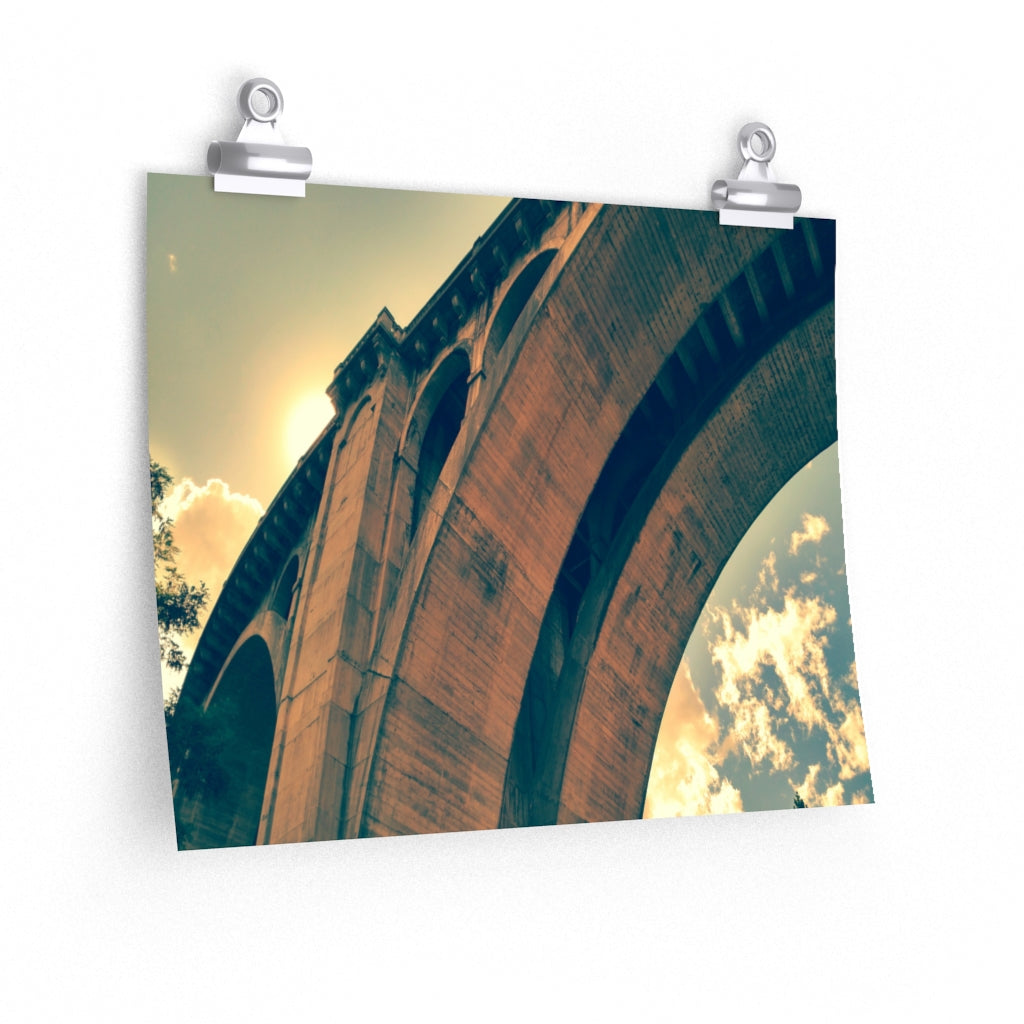 High Bridge Arch Print on Fine Art Paper - www.thedesigntank.com