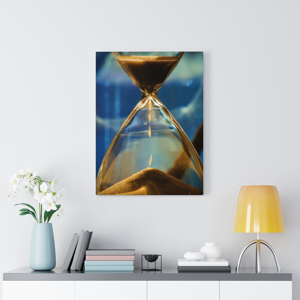Hour Glass Print on Canvas - www.thedesigntank.com