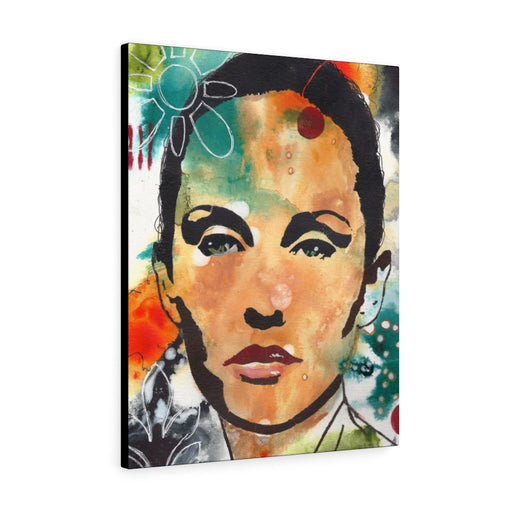 Beautiful Woman Print on Canvas - www.thedesigntank.com