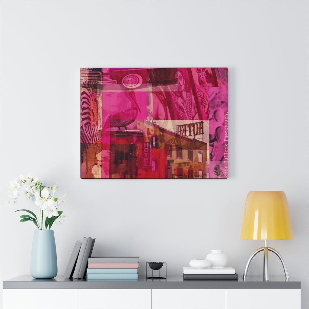 Layers of Ensenada Print on Canvas - www.thedesigntank.com