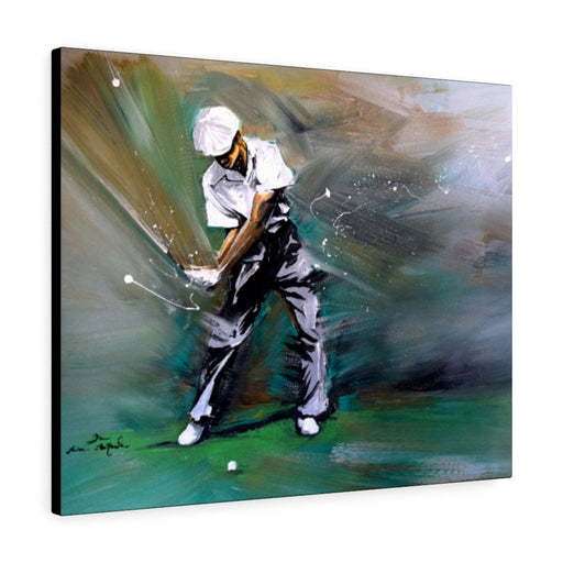 Ben Hogan Golf Print on Canvas by Remi Bertoche - www.thedesigntank.com