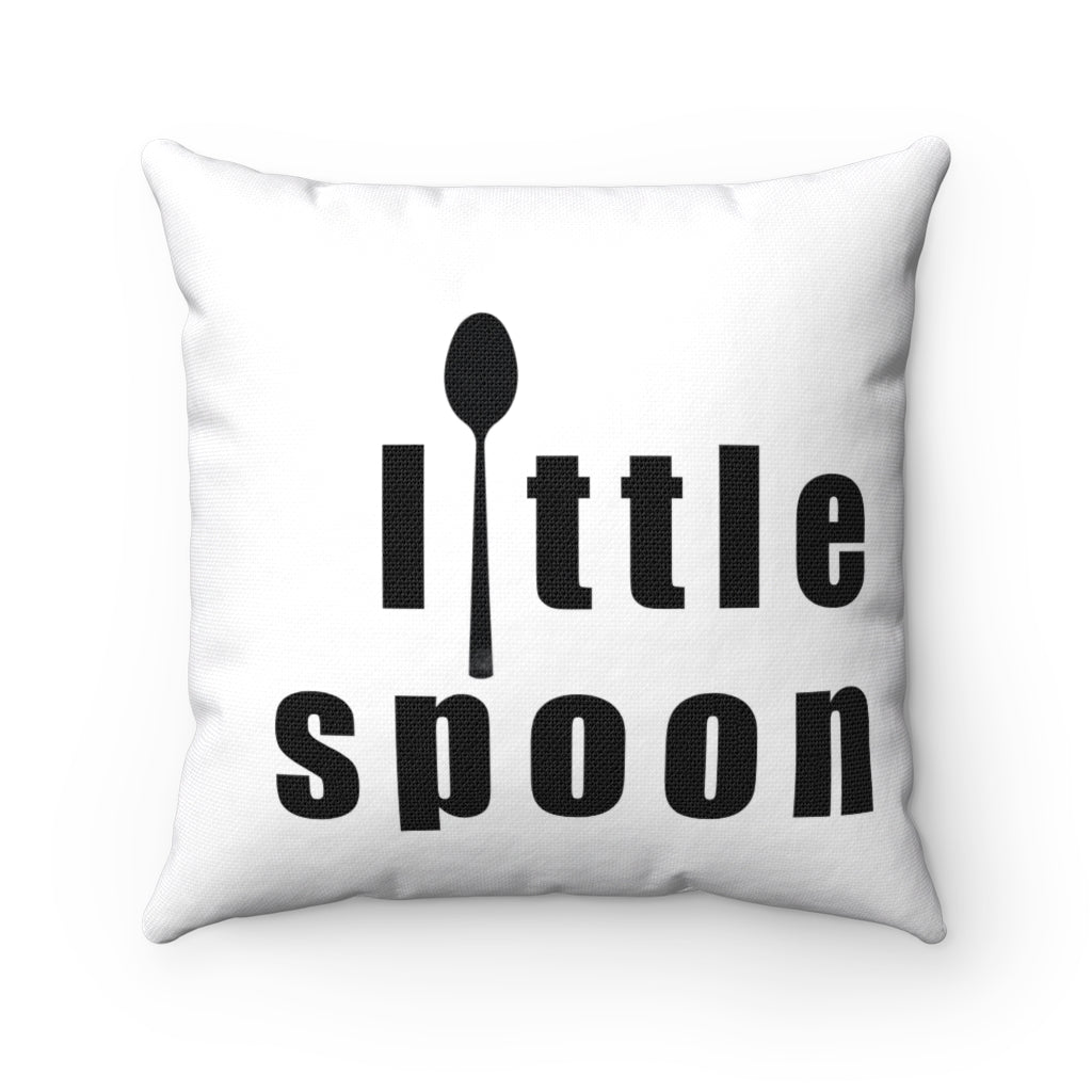 Little Spoon Square Pillow - www.thedesigntank.com