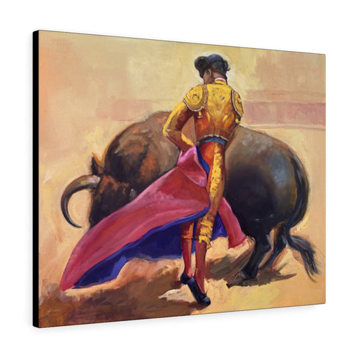 Bullfighter Print on Canvas - www.thedesigntank.com
