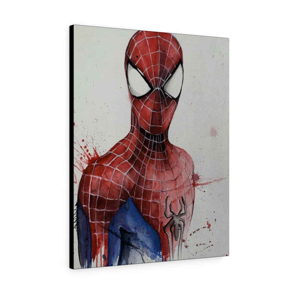 Spider-Man Print on Canvas - www.thedesigntank.com
