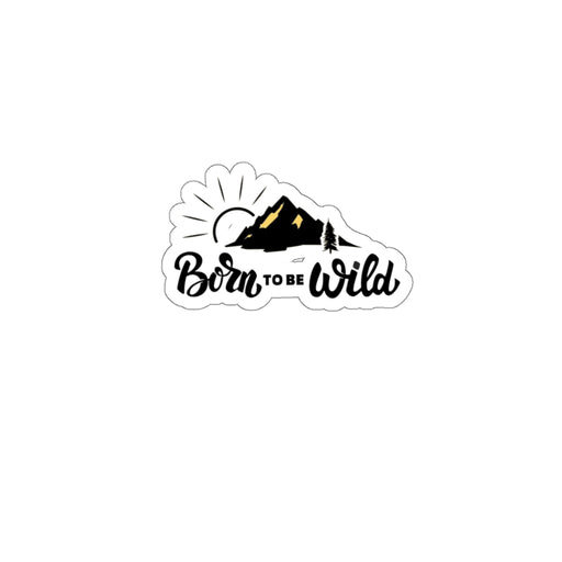 Born to be Wild Stickers - www.thedesigntank.com