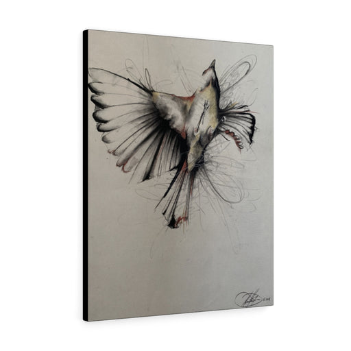 Bird in Flight Print on Canvas - www.thedesigntank.com