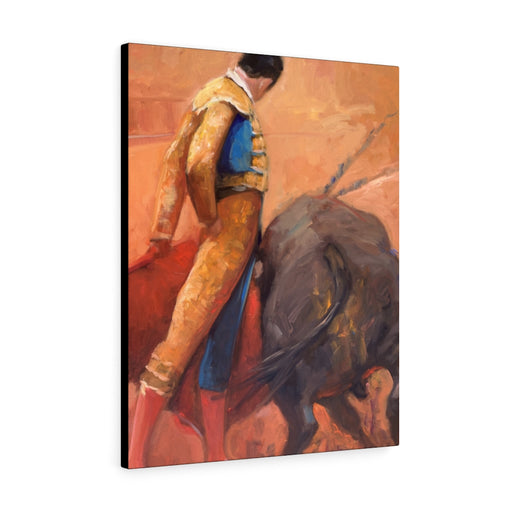 Bullfighting Print on Canvas - www.thedesigntank.com