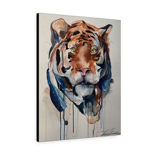 Bengal Tiger Print on Canvas by Adam Dano - Design Tank