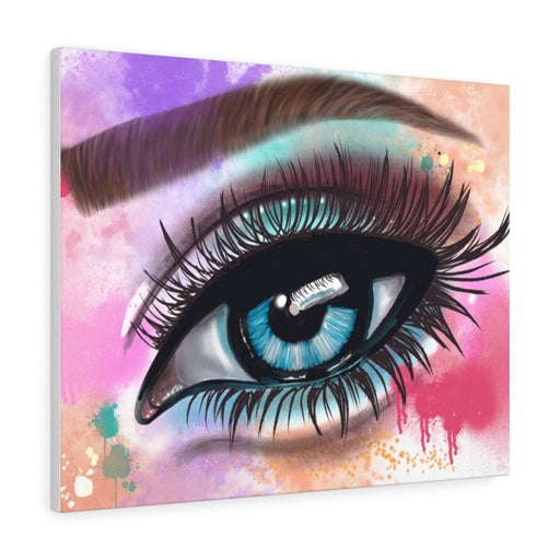 Eye Print on Canvas - www.thedesigntank.com