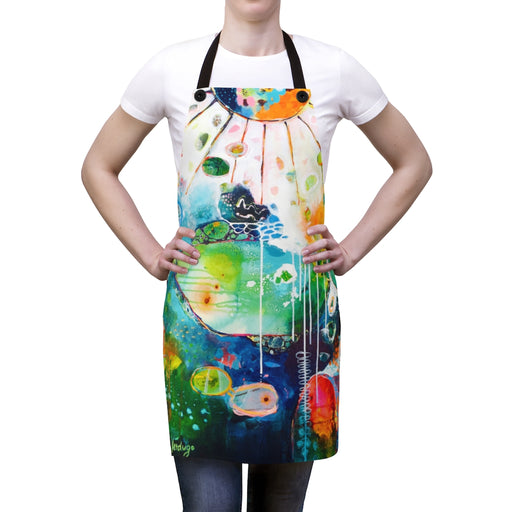 Home by the Sea Artist Apron by Tracy Verdugo - Design Tank