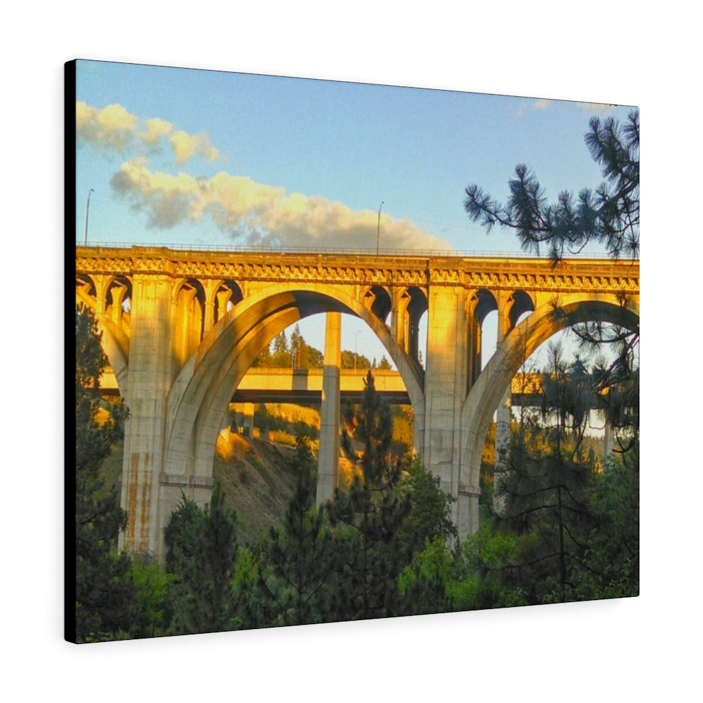 High Bridge Print on Canvas - www.thedesigntank.com
