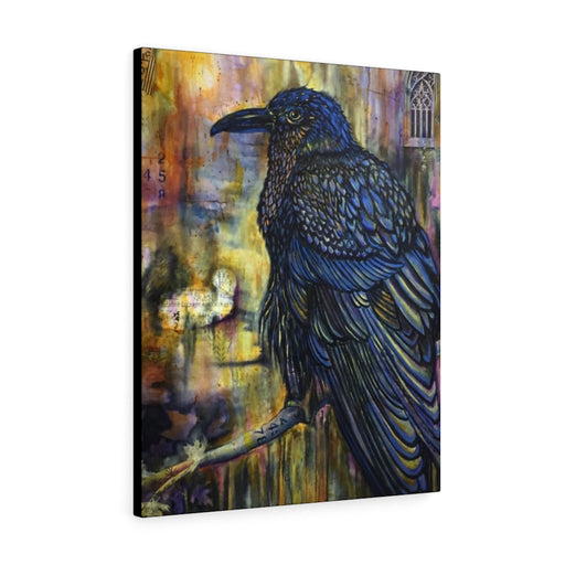 Raven Print on Canvas - Design Tank