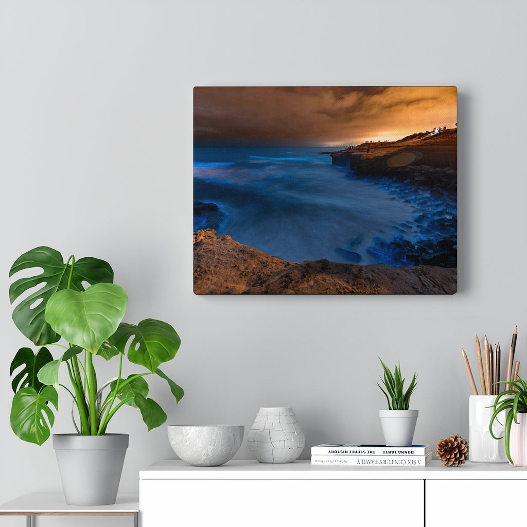 Sunset Cliffs Print on Canvas - Design Tank