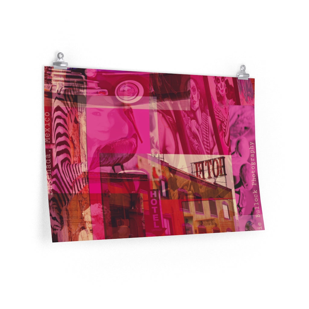 Layers of Ensenada Print on Fine Art Paper - www.thedesigntank.com