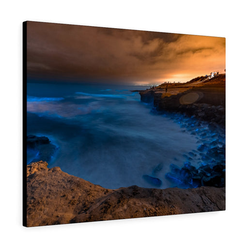 Sunset Cliffs Print on Canvas - www.thedesigntank.com