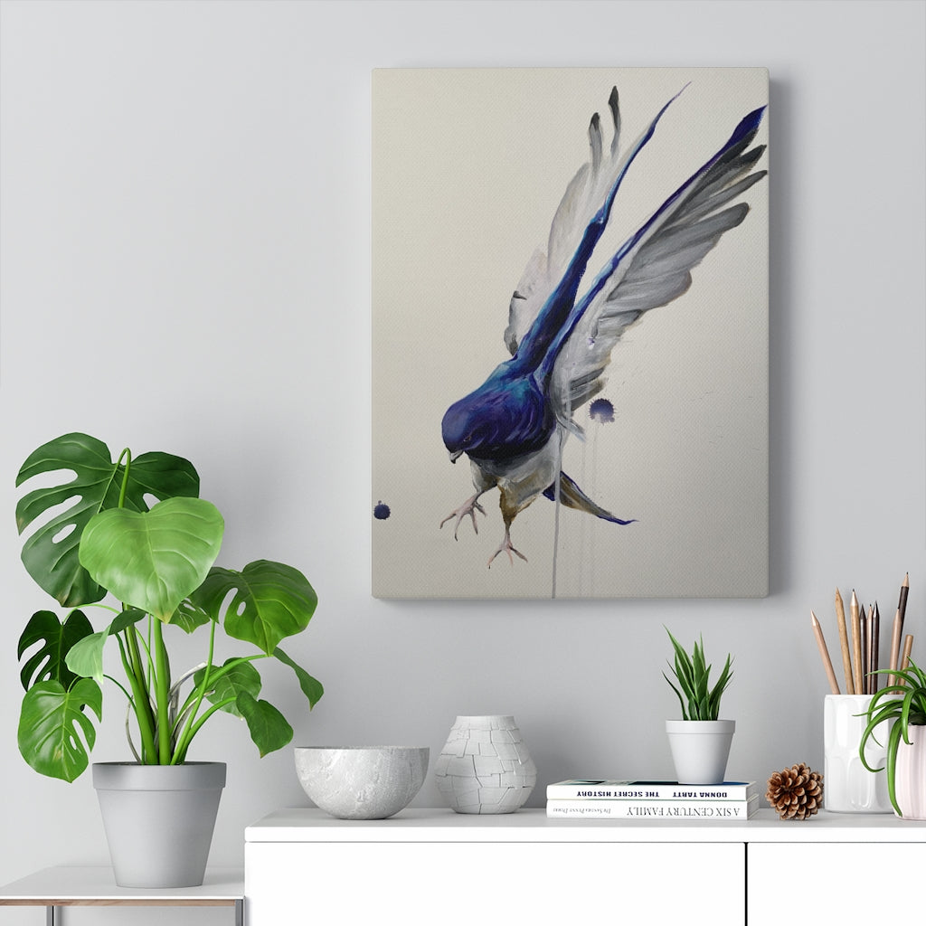 Dove Print on Canvas - www.thedesigntank.com