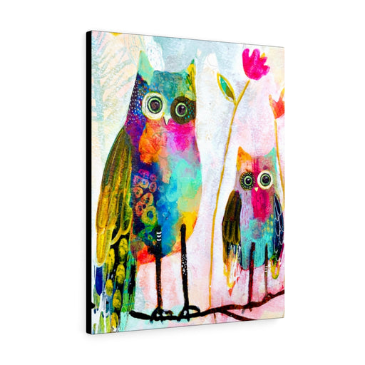 Wonky Owl Print by Tracy Verdugo on Canvas - Design Tank
