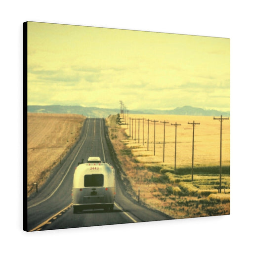 Headed Down the Highway Print on Canvas - www.thedesigntank.com