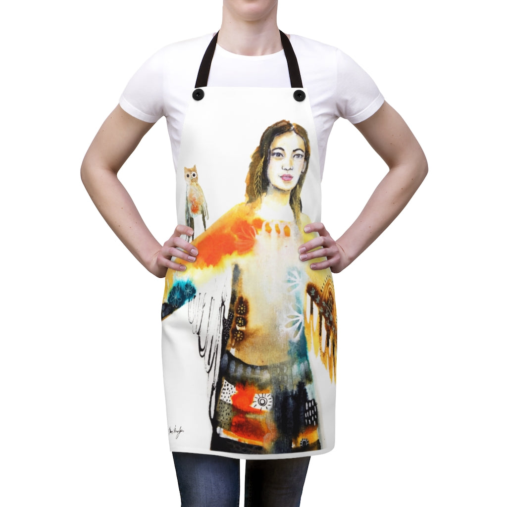 Skydancer Artist Apron by Tracy Verdugo - www.thedesigntank.com