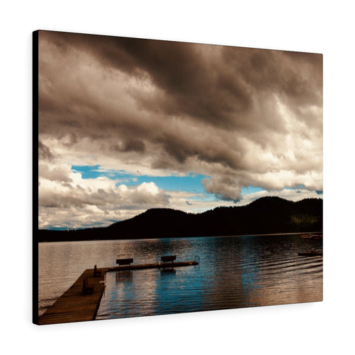 Deer Lake Print on Canvas - www.thedesigntank.com