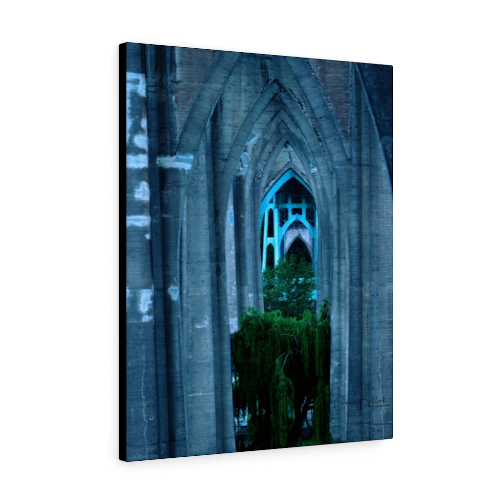 St Johns Cathedral Park Print on Canvas - www.thedesigntank.com