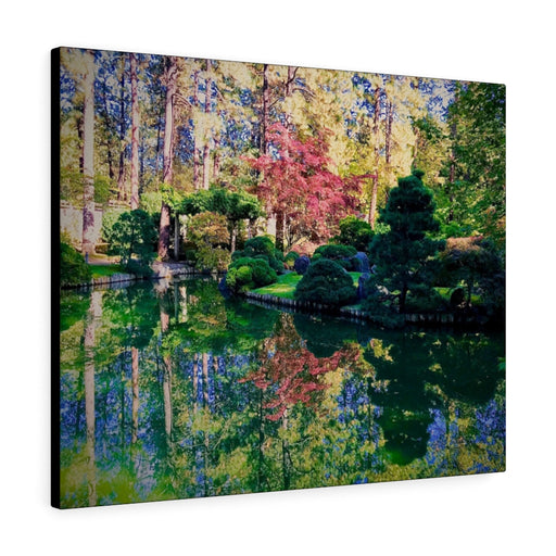 Manito Park Print on Canvas - www.thedesigntank.com