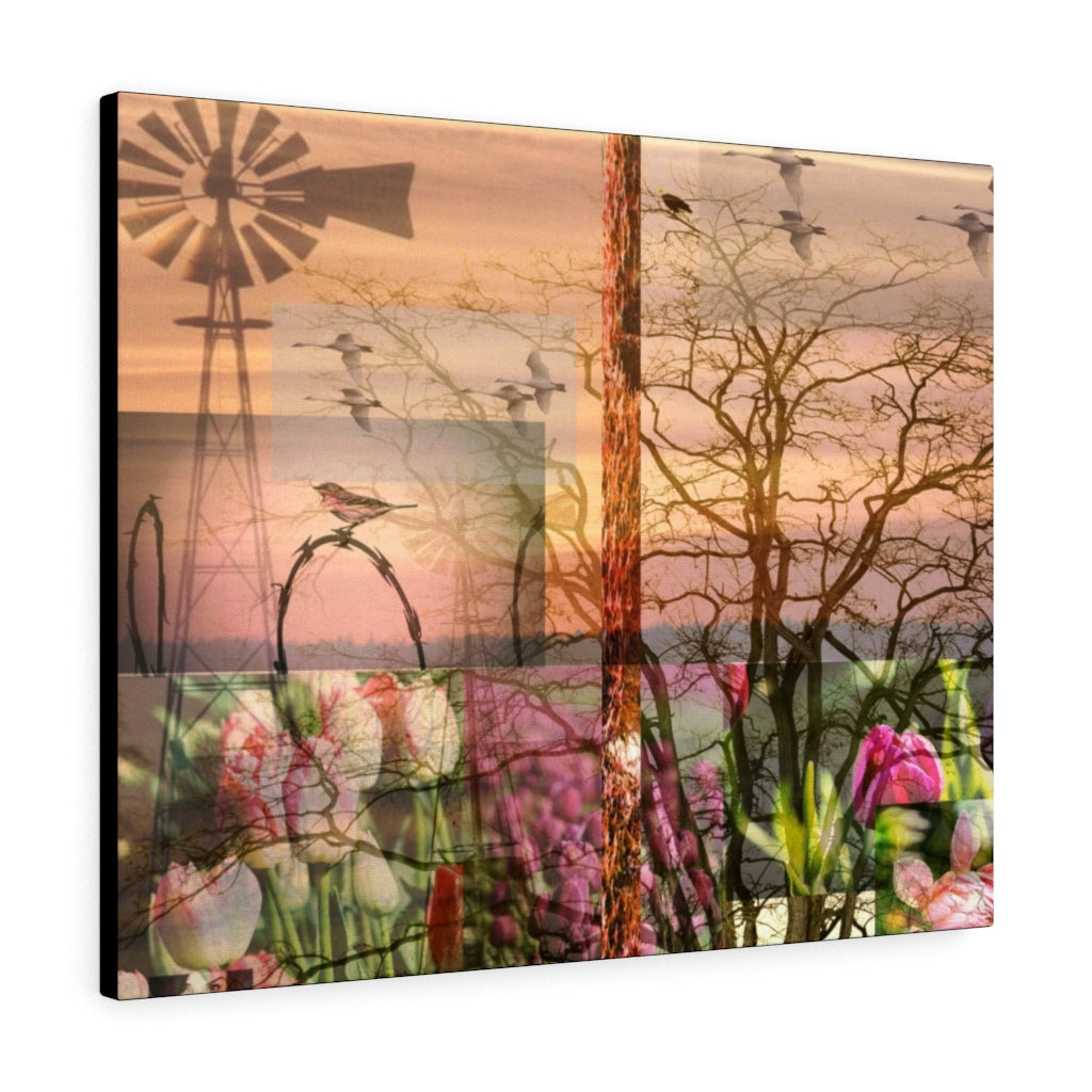 Skagit Farm Print on Canvas - Design Tank