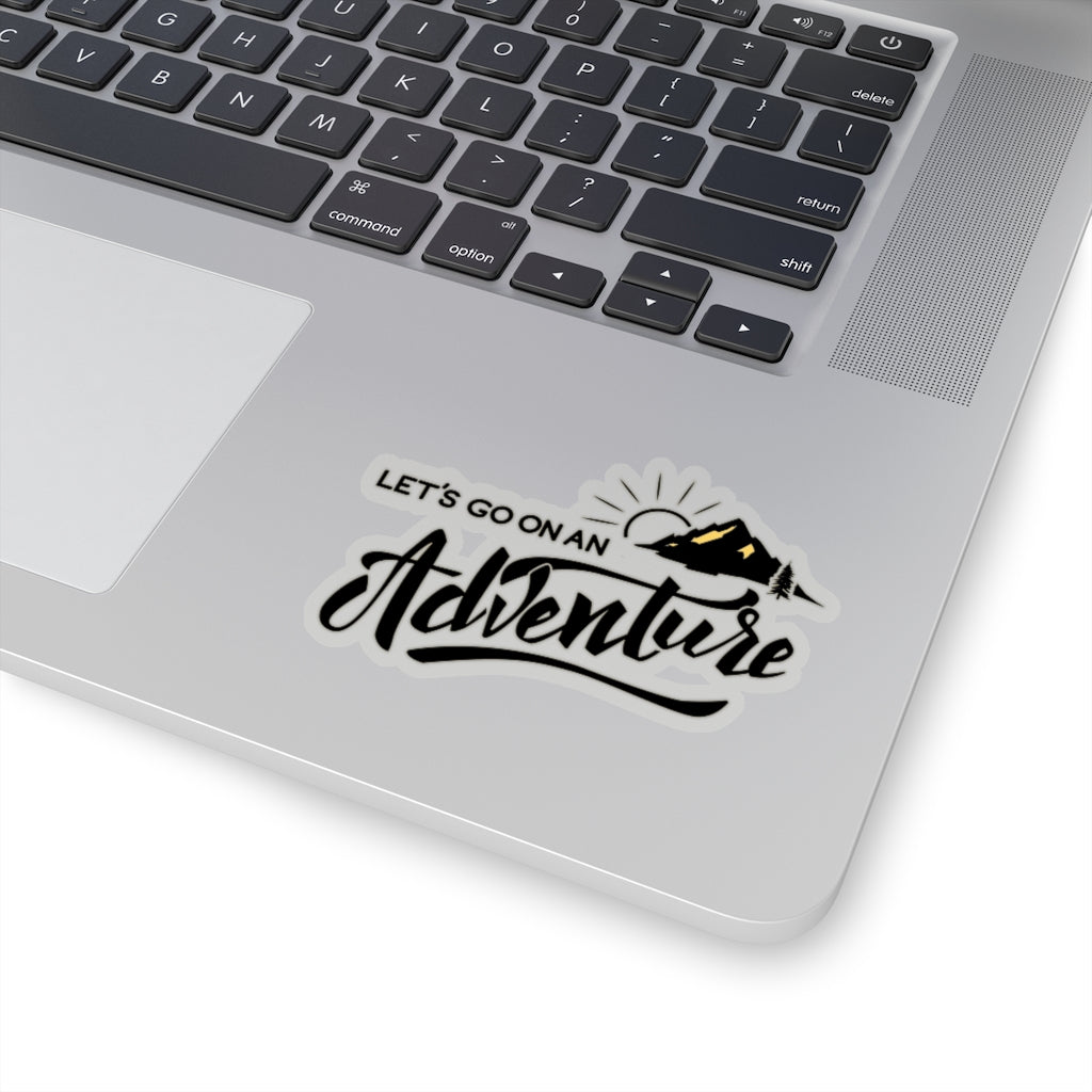 Let's Go on an Adventure! Stickers - www.thedesigntank.com