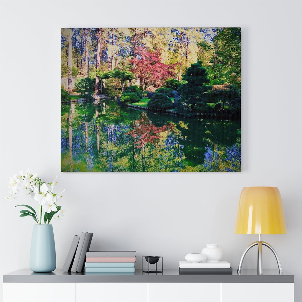 Manito Park Print on Canvas - Design Tank
