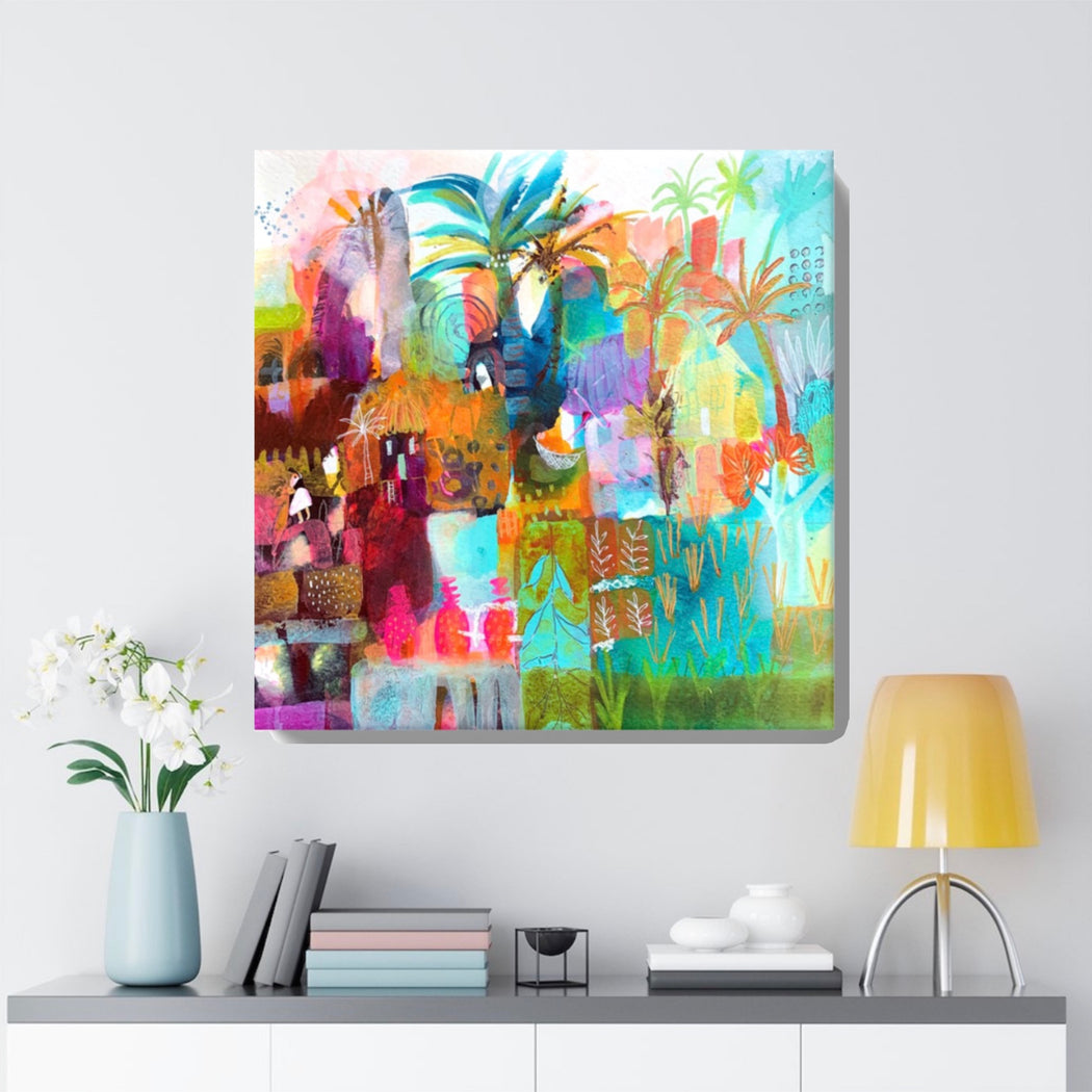 'One Beautiful Ordinary Day' Print by Tracy Verdugo on Canvas - www.thedesigntank.com