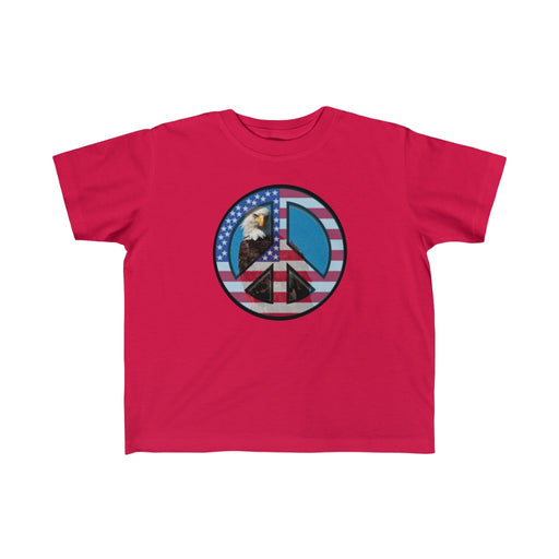 'Patriotic Peace' Toddler Tee - www.thedesigntank.com