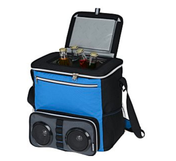 Koozie Bluetooth Speaker and Cooler for your Golf Cart - www.thedesigntank.com