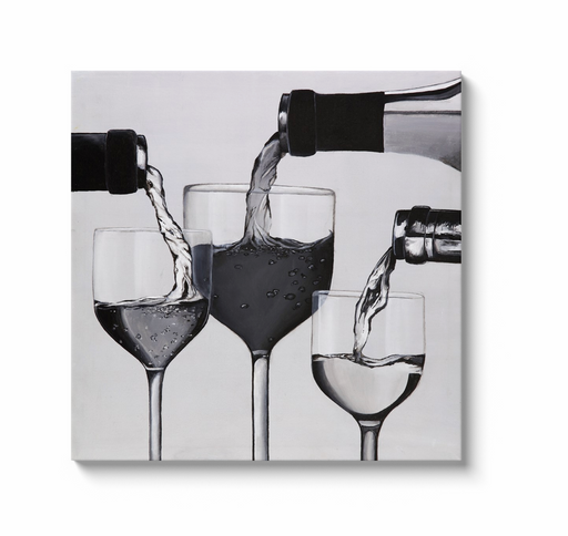 XXL Wine Print on Canvas - www.thedesigntank.com