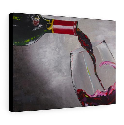 'You had me at Merlot' XXL Print on Canvas by Amanda Lea Pulis - Design Tank