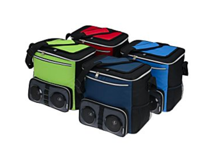 Koozie Bluetooth Speaker and Cooler for your Golf Cart - Design Tank