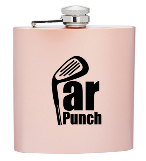 Par Punch Flask for your Golf Bag - Design Tank
