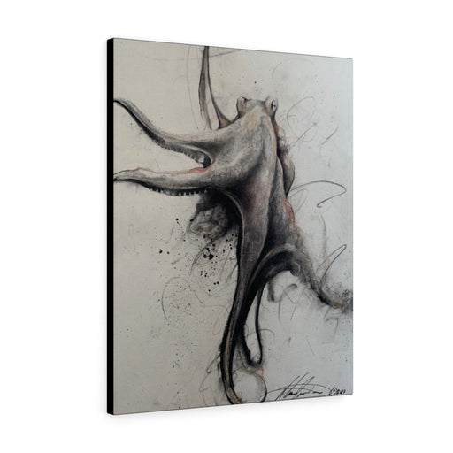 Octopus Print on Canvas - www.thedesigntank.com