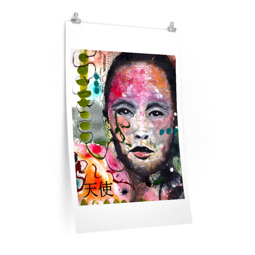 Beautiful Woman Prints on Fine Art Paper - www.thedesigntank.com
