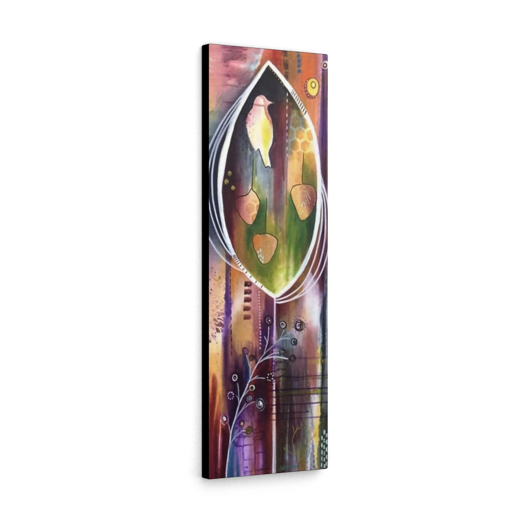 "Leaves of Life 12x36"" Print on Canvas - Design Tank"