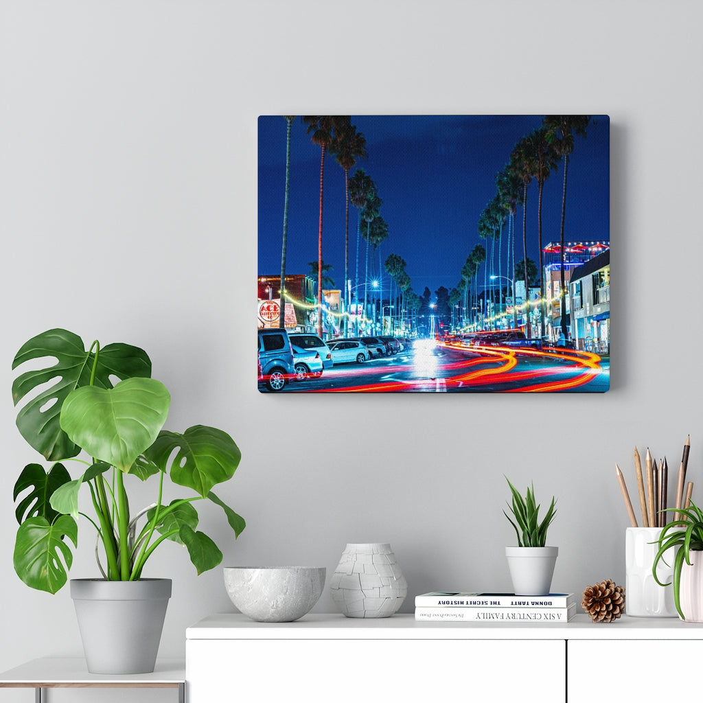Newport Avenue Print on Canvas - www.thedesigntank.com