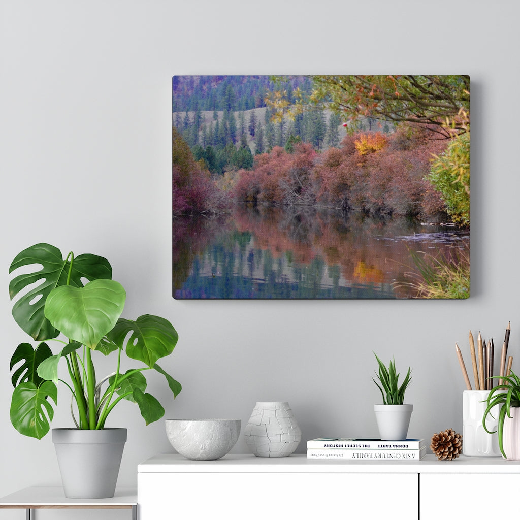 Fall Colors Print on Canvas - www.thedesigntank.com
