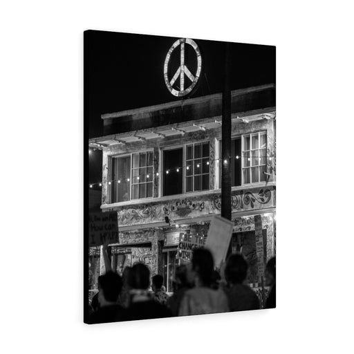 Peace Print on Canvas - www.thedesigntank.com