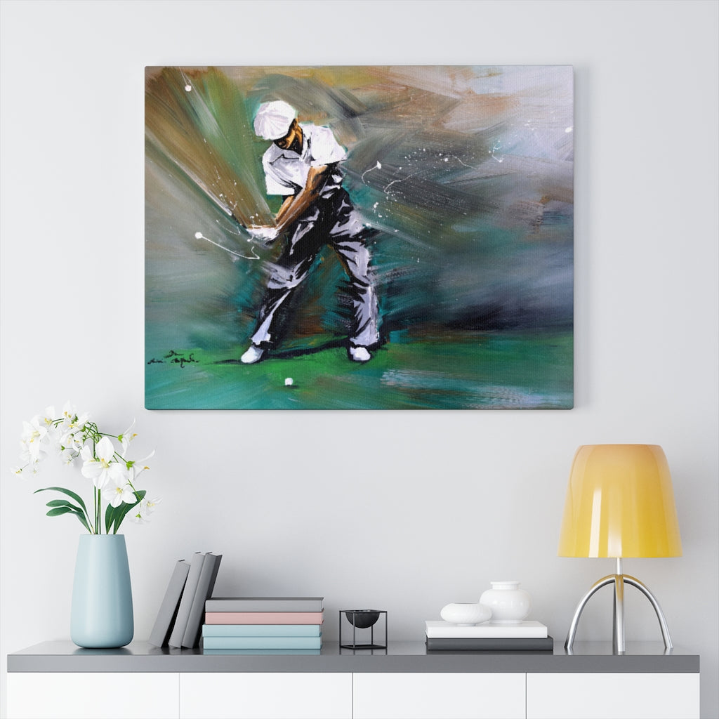 Ben Hogan Golf Print on Canvas by Remi Bertoche - Design Tank