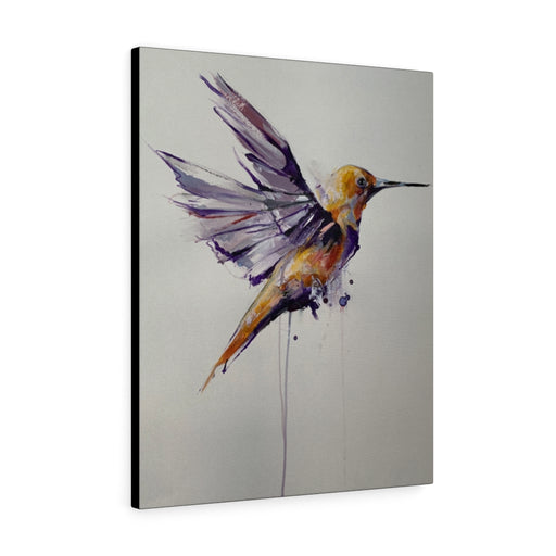 Hummingbird Print on Canvas - Design Tank