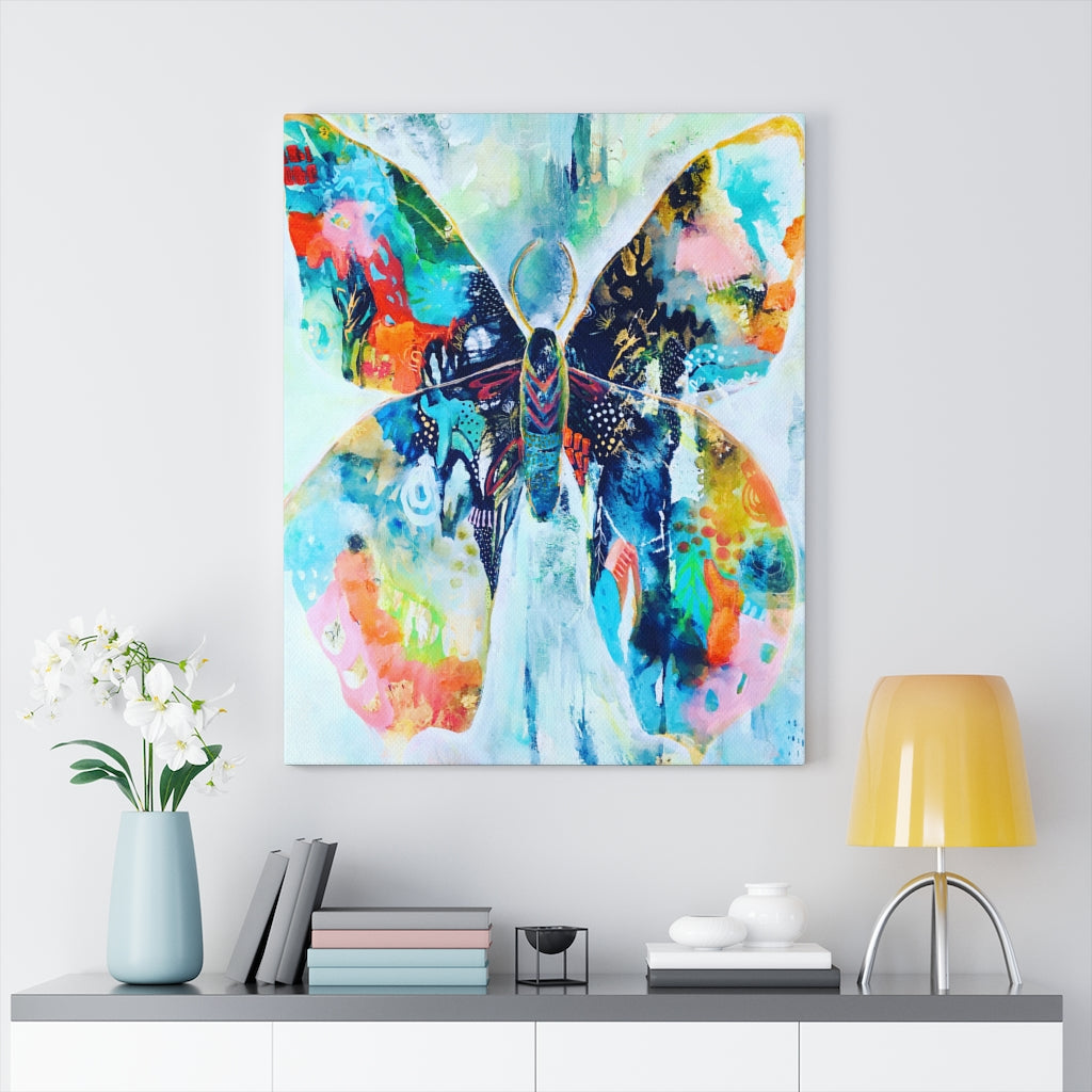 Butterfly Print by Tracy Verdugo on Canvas - www.thedesigntank.com